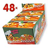 Gummy Zone Pizza 5 Slizes 48 x 17g Packung (Fruchtgummi-Pizza)