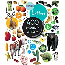 Eyelike Stickers: Letters: 400 Reusable Stickers Inspired by Nature