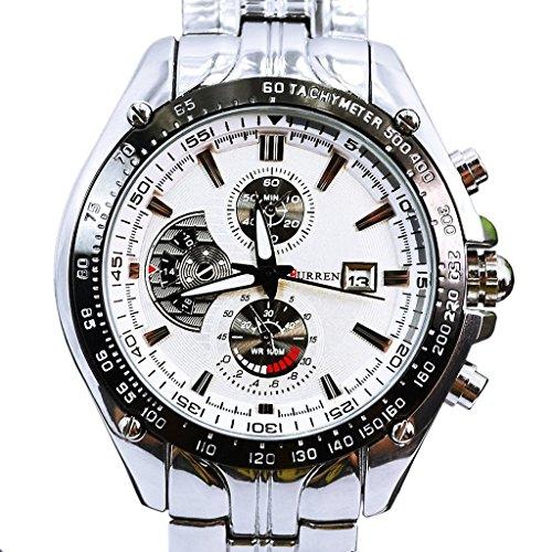 luxary-quadrante-bianco-quarzo-movt-boys-orologio-da-uomo-argento-in-acciaio-inox-data-elegante-orol