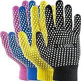 Mechaniker Handschuh, Arbeitshandschuh, Montagehandschuh Universalgröße 6-12 ohne Nähte...