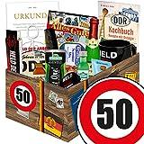 Produkt-Bild: Geburtstagsgeschenke zum 50. Männer Box mit DDR Waren + Geschenkverpackung