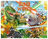 Depesche 8478 - Mal und Stickerbuch Create Your Dino World, mit Stickern, Malbücher