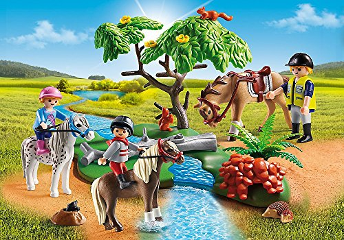 PLAYMOBIL   Country 5-part Set 6927 6947 6948 6949 6950 Pony Farm   Cheerful Ride   Trip with carriage   Pony with Foal   Walk with Pony