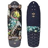 Dusters 10531382Koi Schwarz/Gold Cruiserboard Skateboard, Schwarz/Gold, Größe 29