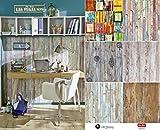 Selbstklebende Folie Tapete Klebefolie für Möbel Küche Tür Fliesen Schrank