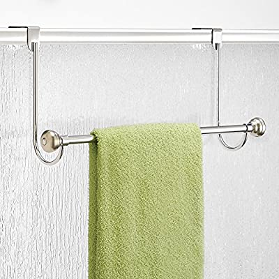 InterDesign Astoria Over Shower Door Towel Bar - inexpensive UK bar stool shop.