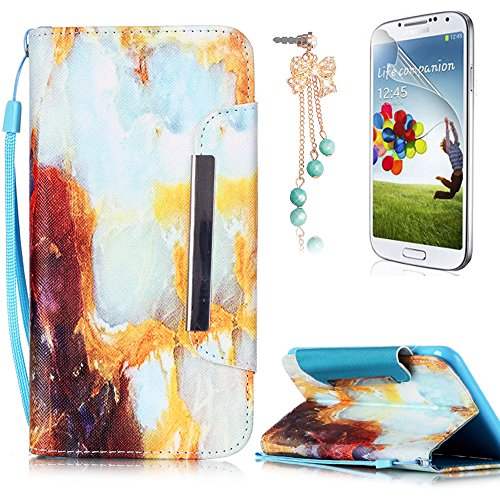 Cover Galaxy S7 Edge Custodia , Retro Diamante strass Design Con Cinturino da Polso Magnetico Snap-on Book style Internamente Silicone TPU Custodie Case in pelle Protettiva Flip Per Samsung Galaxy S7  B-01