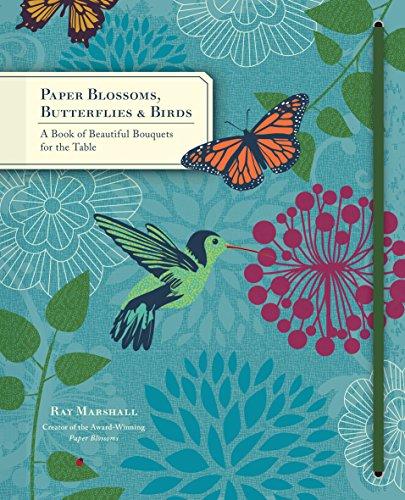 paper blossom butterflies & birds