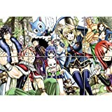 GIANT Fairy Tail Anime Manga Art Print Picture Poster G1117 by