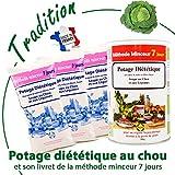 Anne Delona soupe au chou cure de 21 jours méthode minceur 7 jours potage diététique pour perte de poids