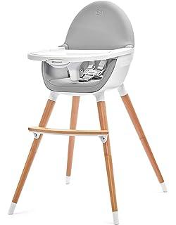 Dove Grey Monat und bis 15 kg In drei Positionen einstellbares Esstischchen ZOPA Holzhochstuhl DOLCE Kinderhochstuhl Treppenhochstuhl ab dem 6