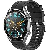Supore Correa Compatible con Huawei Watch GT2 46mm/Watch GT 46mm/Watch GT Active/Watch 2 Pro/Honor Watch Magic/Galaxy Watch 4