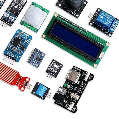 ELEGOO Kit DE 37-en-1 Module Capteur V2.0 avec CD Tutorial Complet et Accessible pour Raspberry Pi Débutants et Professionnels DIY Compatible avec Arduino IDE Img 4 Zoom