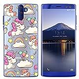 Easbuy Handy Hülle Soft Silikon Case Etui Tasche für Doogee BL12000 / BL12000 Pro Smartphone Cover Handytasche Handyhülle Schutzhülle