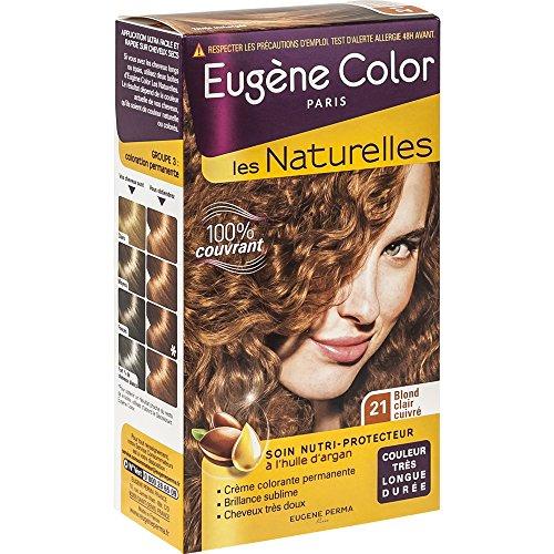 Eugène Color - Les Naturelles - N°21 Blond Clair Cuivré d'occasion  Livré partout en France