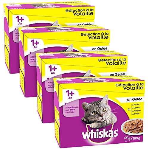 Whiskas - Sélection à la Volaille en Gelée 1 avec -...