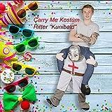 GARDENho.me Carry Me Kostüm Ritter Kunibald Huckepack Trag Mich Karneval Fasching