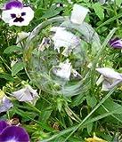 8 Durstkugeln Bewässerungskugeln mit Silikonstopfen 10 cm Gigant Durstkugel Pflanzensitter DKMS