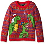 Blizzard Bay Big Boys' Three Wise Raptors Xmas, Red/Green/Blue, Large