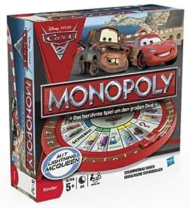 Monopoly 27810100 - Hasbro Monopoly Disney Cars 2