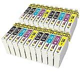 TONER EXPERTE® 20er Set Druckerpatronen kompatibel für Epson 29XL 29 T2991-4 Expression Home XP-235 XP-335 XP-435 XP-245 XP-247 XP-342 XP-432 XP-442 XP-445 XP-345 XP-332 | hohe Kapazität