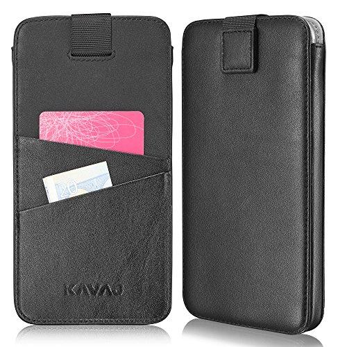 6 Iphone Kavaj Leder Case (KAVAJ iPhone 8 Plus / 7 Plus / 6S Plus / 6 Plus Hülle Leder Case