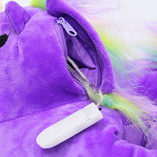 Unicorno Le Inverno Bomkin Pantofole Peluche Ragazze Del Formato 35 Per Brillante Delle Adulti Scarpe Pantofole Fumetto Ha Bambini 43 Casa Signore Degli Luminose Costume Condotto Unicorno Viola 00APZf