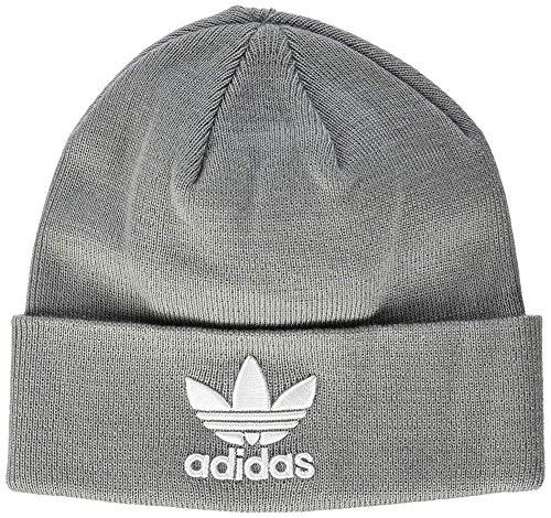 adidas Erwachsene Trefoil Mütze Solid Grey OSFM