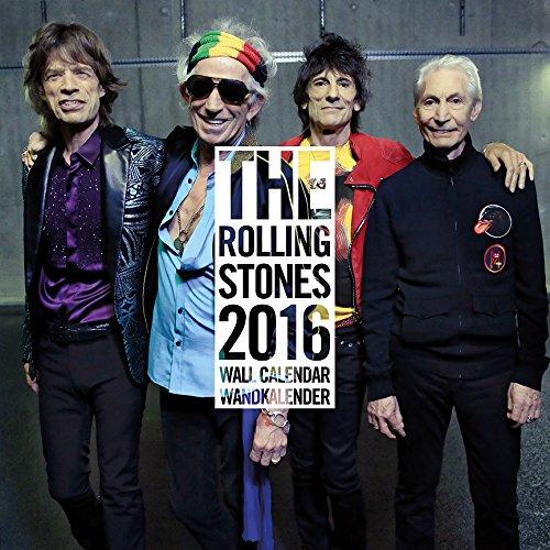 The Rolling Stones 2016 Calendar