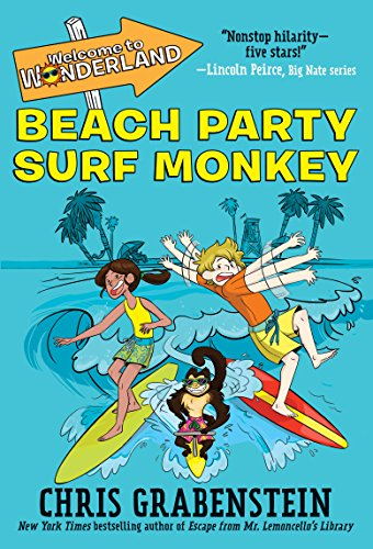 Welcome to Wonderland #2: Beach Party Surf Monkey (English Edition) (Ii Surf)