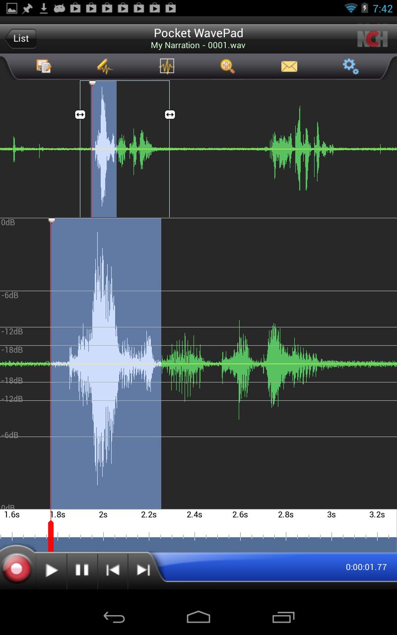 wavepad sound