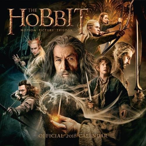 The Hobbit Official 2018 Calendar - Square Wall Format