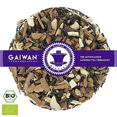 """N° 1246: Thé noir bio """"Chai classique"""" - feuilles de thé issu de l'agriculture biologique - GAIWAN® GERMANY - cassia, thé noir de l'Inde, gingembre, poivre noir, orange, giroflier"""