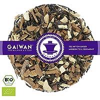 """N° 1246: Thé noir bio""""Chai classique"""" - feuilles de thé issu de l'agriculture biologique - 100 g - GAIWAN GERMANY - cassia, thé noir de l'Inde, gingembre, poivre noir, orange, giroflier"""