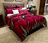Best Flat Pillows - Home Candy Elegant Print Microfiber Double Bedsheet Review