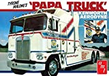 AMT Amt9321: 25Tyrone Malone S Kenworth Transporteur Papa Camion Jouet