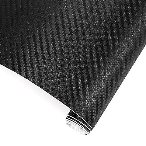 Autocollant De Toit - TRIXES Adhésif 3D fibre carbone vinyle emballer