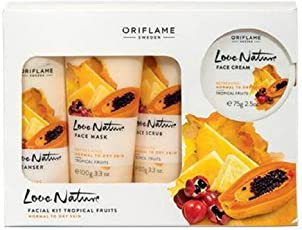 Love Nature Tropical Fruits Facial Kit for Normal To Dry Skin