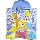 Die besten Disney Handtücher Bäder - Disney Princess Poncho mit Kapuze für Mädchen, offizielles Bewertungen