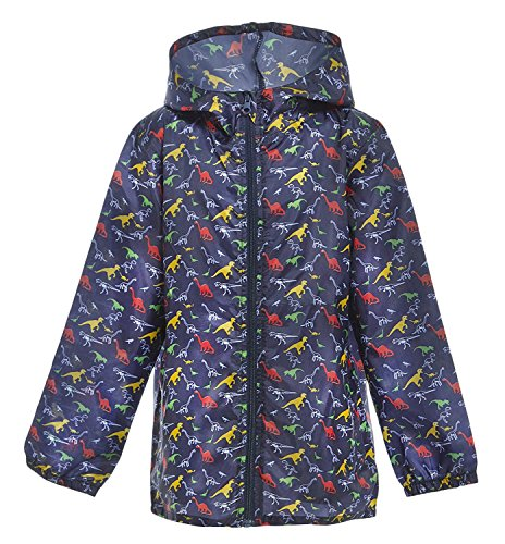 Kids Dinosaur Printed Raincoat Mac