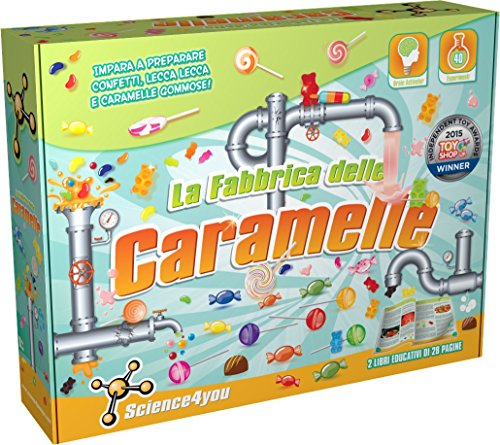Science4You Fabbrica delle Caramelle, Gioco Educativo e Scientifico