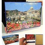 Particular-Marcos para Puzzles, marcos de plástico, blanco, 36x49 cm (200/500 Teile)