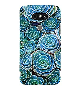 printtech Nature Flowers Back Case Cover for LG G5