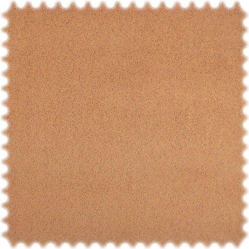 polstereibedarf-online AKTION Original Microfibres® Flockvelours Möbelstoff LONGLIFE Soft Lachs