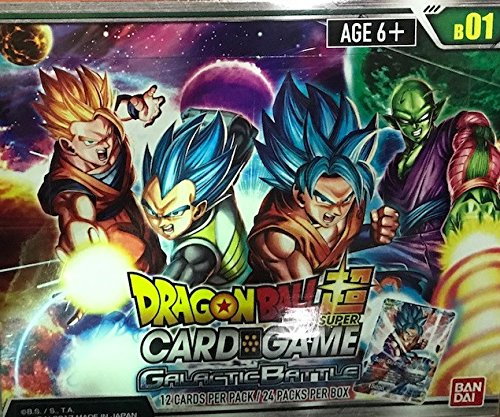 DRAGON BALL SUPER CARD GAME GALATIC BATTLE PACK