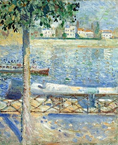 Das Museum Outlet-Munch-Die Seine bei St Cloud-Leinwandbild Print Online kaufen (152,4x 203,2cm)