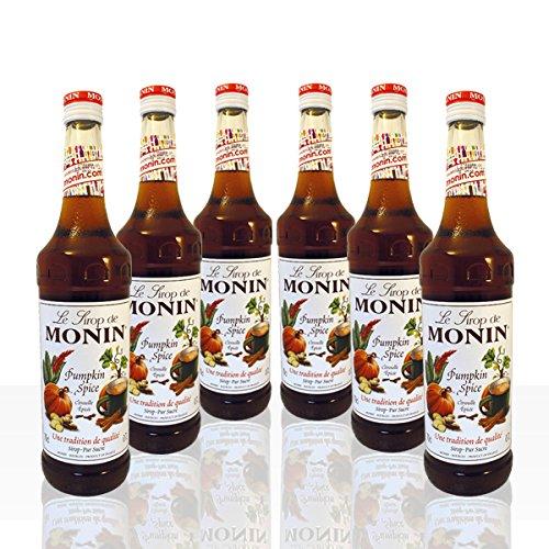 Monin Sirup Pumpkin Spice Kürbis 6 x 0,7 l Monin Pumpkin Spice