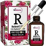 StBotanica Retinol 2.5% + Vitamin E, C & Hyaluronic Acid Professional Facial Serum - 20ml - Anti Aging/Wrinkle...