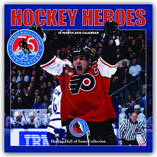 Descargar Libro Hockey Heroes - Eishockey 2018 - 16-Monatskalender: Original BrownTrout/Wyman Publishing-Kalender de Wyman