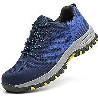 Scarpe Antinfortunistiche per Unisex, Uomo Donna Traspiranti Sneaker da Lavoro Leggere ed Eleganti Scarpe Sportive di…